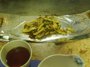 Teppanyaki - Squid