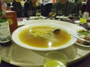Dish 4: Shark fin soup
