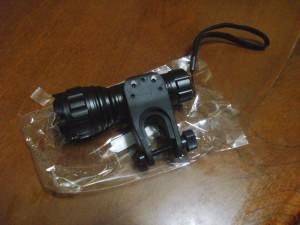 Impulse buy: Bike-mounted LED Flashlight