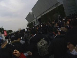 Line to Buy Doujinshi