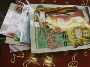 Astronomy + other Nanoha loot