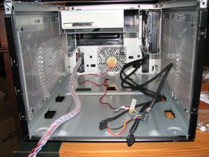 Inside of Case