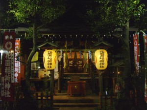 Shrine in Ueno Park