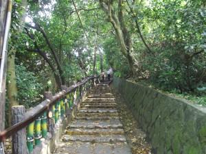 Climbing Yuanshan