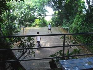 Badminton Ninjas playing badminton
