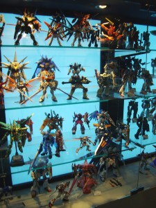 Gunpla Exhibit