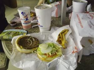 Lotaburger and Fries