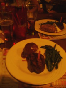 Ellis Island Steak Dinner
