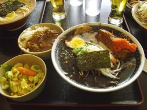 Curry Set with Kuro Ramen