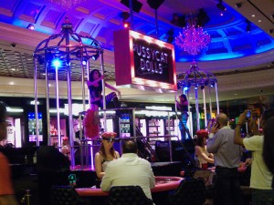 Pole Dancers and Gambling