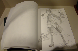 Anime guestbook