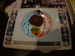 Kyouko and Sayaka Roll Cake